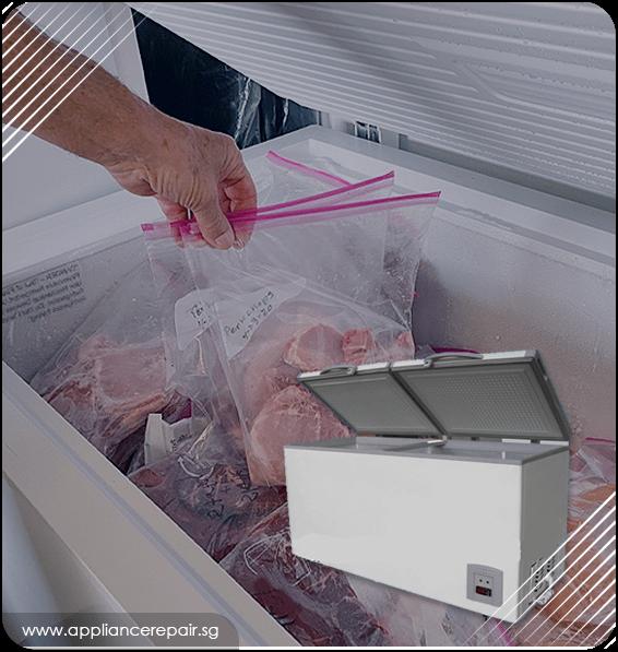 Chest freezer repair